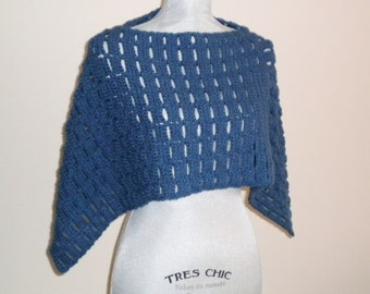 Crochet CAPELET PATTERN - Carefree
