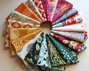 Moon Shine Fat Quarter Bundle (20 prints, 5 yards total) - Tula Pink - Free Spirit Fabrics