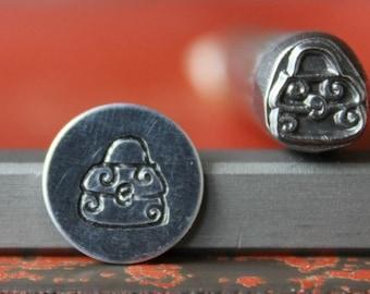 Designer Purse Metal Design Stamp Perfect for Metal Stamping and Jewelry Design Metal Work  SG375-67