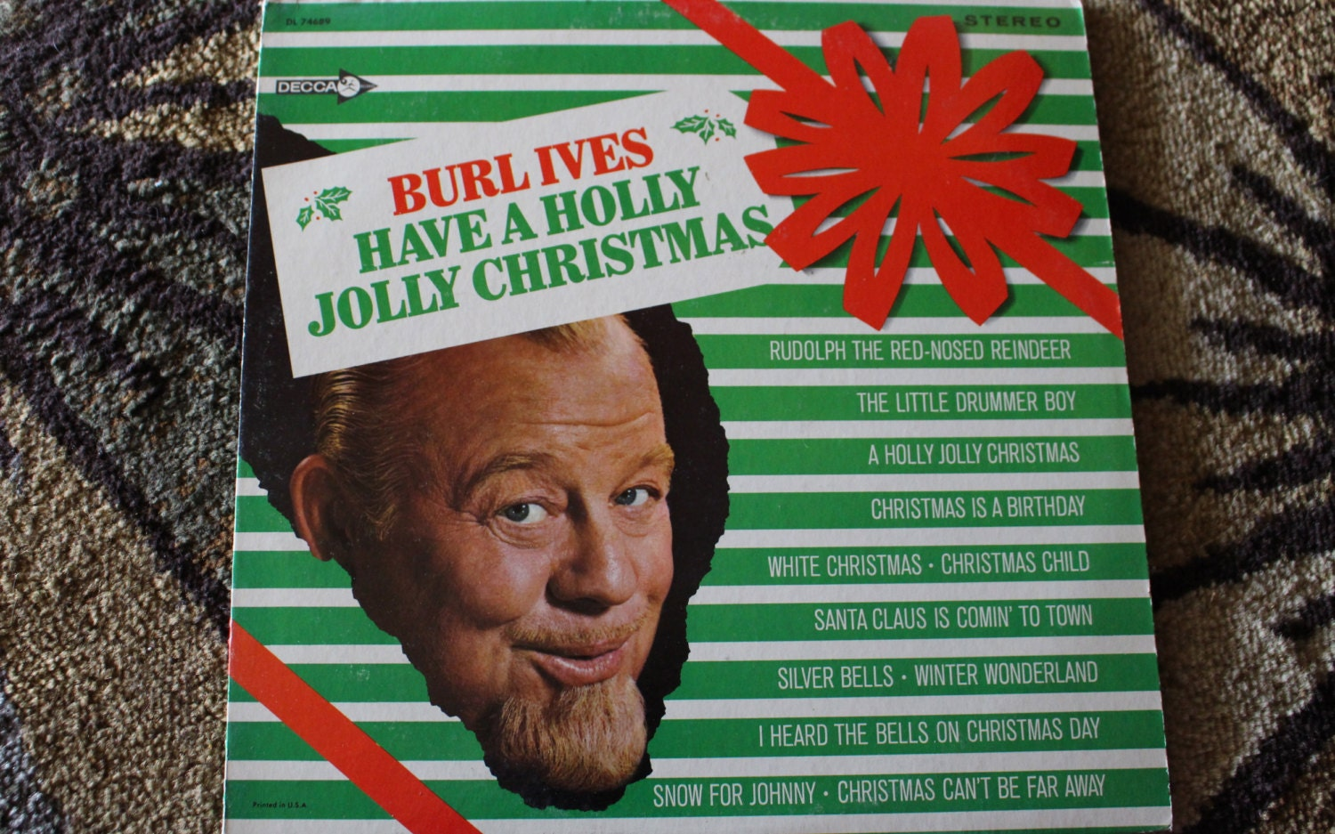 David Jones Personal Collection Record Album - Burl Ives - Have A ...