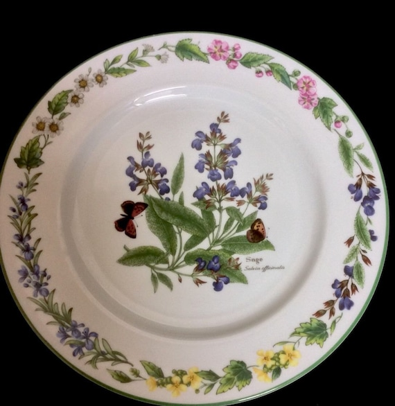 Dessert Plates Salad Plates Royal Worcester Fine Porcelain Lunch Plate Vintage China Set of Two Plates