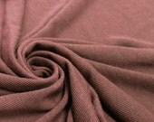Mauve Dark Hacci Classic Sweater knit by the Yard- 1 Yard Style 13243