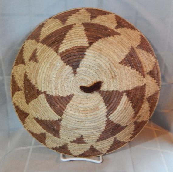 South African Baskets: African Basket Botswana Natural South Africa. Handmade