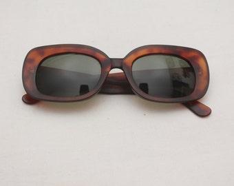 "Rare 90's Vintage ""CLAY"" Tortoise Sunglasses"
