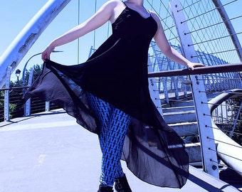 Black Dragon Silhouette Leggings