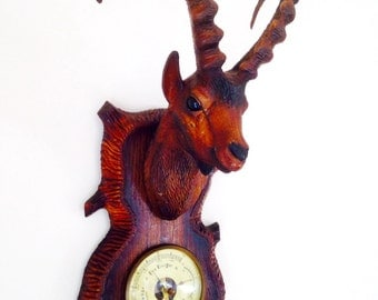 Mountain Goat Barometer Wall Mounted