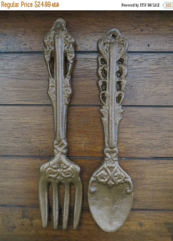 ON SALE TODAY Vintage Oversized Fork and by VeritasInspired