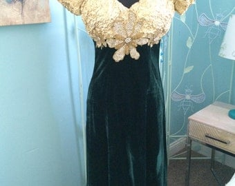 Vintage Alyce Designs evening gown