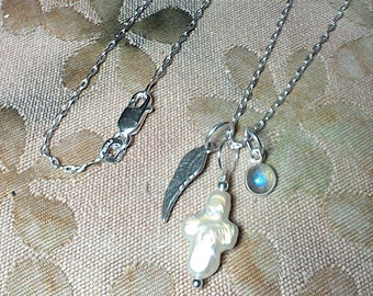 Wing 'N Prayer Necklace