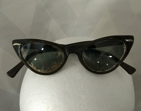 Vintage Cat Eye Sunglasses Non Prescription by