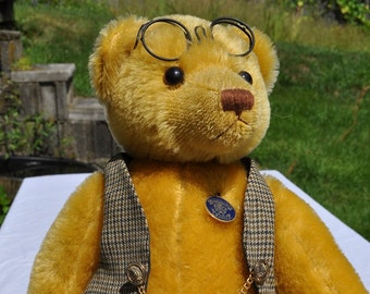 "Knickerbocker bear ""Nick""- mohair"