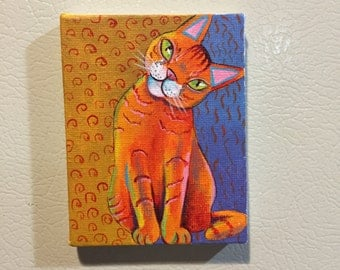 Orange Cat Also