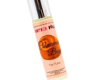 CINNAMON BUN Roll On Oil Based Perfume 9ml