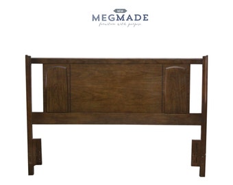 2222-01886 Customizable MCM Queen Headboard by MegMade