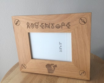 Wood Pokemon Picture Frame