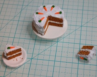 Mini carrot cake set