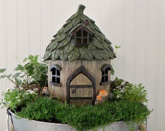Whimsical Fairy Garden Accessories by TheLittleHedgerow on Etsy