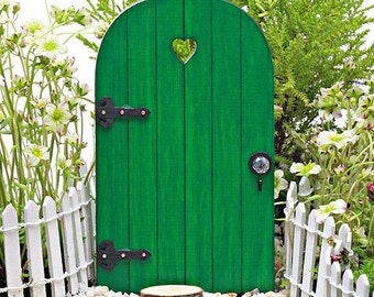 Fairy door fairy garden miniature accessories hand crafted for Fairy door with key