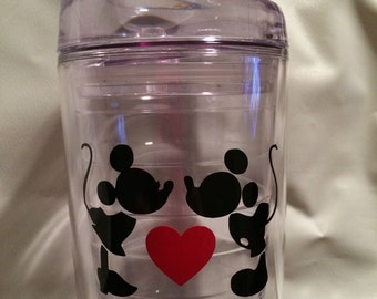 Mickey and Minnie tumbler