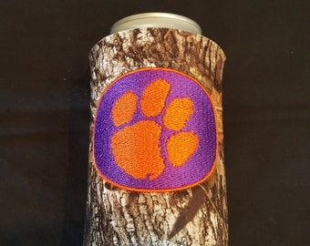 Clemson Custom Camo Can Insulated Beverage Cooler