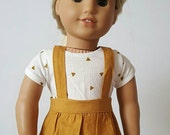 Golden Brown Skirtall for 18 inch dolls by The Glam Doll
