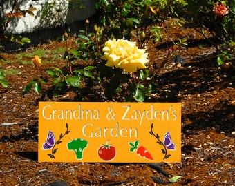 Vegetable Garden Signs Etsy