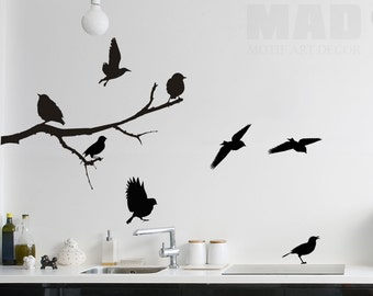 wall sticker wall decal SPARROW