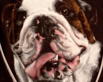 Messenger Bag Custom Painted Portrait of Your Pet