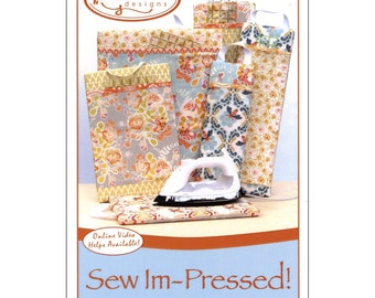 """Pattern """"Sew Impressed"""" - Pressing Board Paper Sewing Pattern by Vanilla House Designs (P209)"""