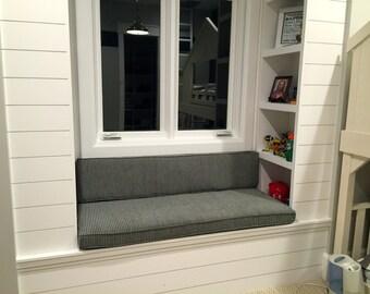 Window or Bench Seat Cushion Custom Made