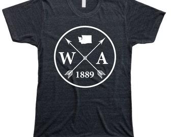 Homeland Tees Men's Washington Arrow T-Shirt