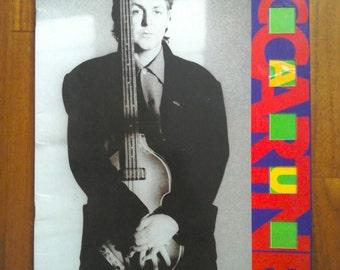 Paul McCartney - World Tour 1989 - Souvenir Programme