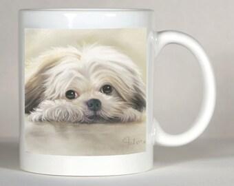 Shih Tzu Mug, Personalized Shih Tzu, Shih Tzu Lover Gift, Custom Shih Tzu Mug