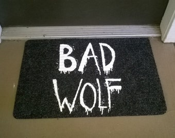 Bad Wolf Welcome Mat