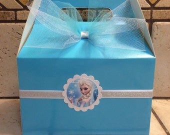 Frozen favor boxes