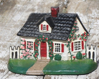 Cast Iron Cottage Door Stop