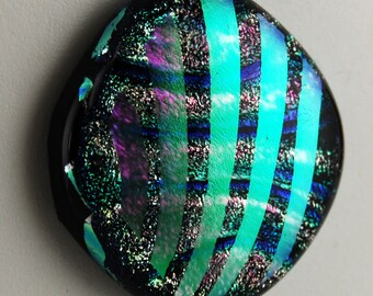 2632 dichroic cabochon - free shipping