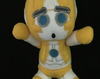 Transformers  Plush Plushie BittyBot Rung Toy from Mythfits