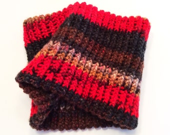 HANDKNIT NECK WARMERS Birds of a Feather