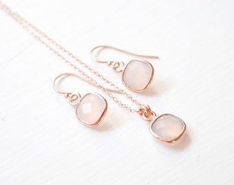 """Shop """"chalcedony"""" in Jewelry Sets"""