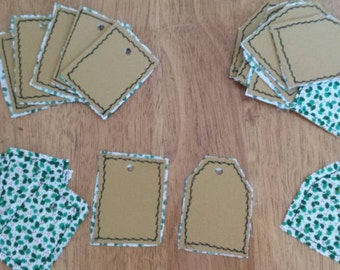 Holiday Gift Tags Eco Friendly Reclaimed Materials