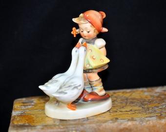 1950's, Goose Girl, Hummel Figurine, Collectible, Goebel Hummel, Great Gift Idea, Large selection of Hummels in our shop, #755