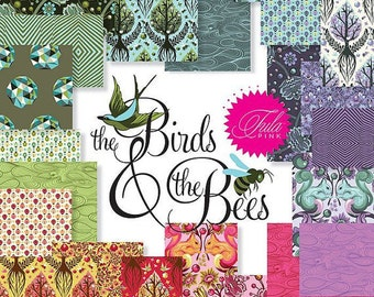 Tula Pink: The Birds and The Bees Fat-Quarter Bundle