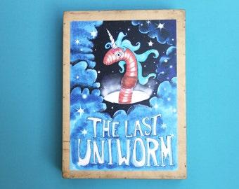 unicorn poster funny unicorn print wall art unicorn nursery art fantasy poster