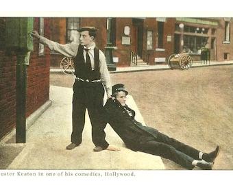 "Buster Keaton 3.75"" x 5.5""Postcard"