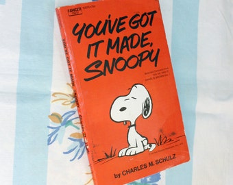 You've Got It Made, Snoopy, 1974 Fawcett Crest Book