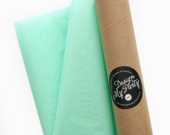 Cool Mint Tissue Paper (20 or 40 Sheets) 500mmx760mm