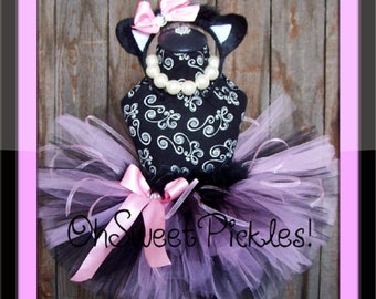 KISPERS The Kitty Cat - HALLOWEEN COSTUME - Sizes 0, 3, 6, 9, 12, 18, 24 Months, 2t, 3t, 4t, 5t