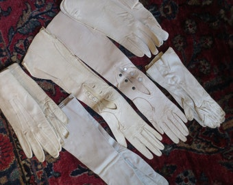 NEW PRICE Vintage Leather Gloves