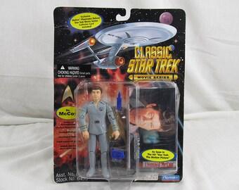 Dr. McCoy Action Figure Star Trek 1995 Playmates New Sealed Vintage Collectible & Accessories Geek Gift Trekkie Sci-Fi Lover